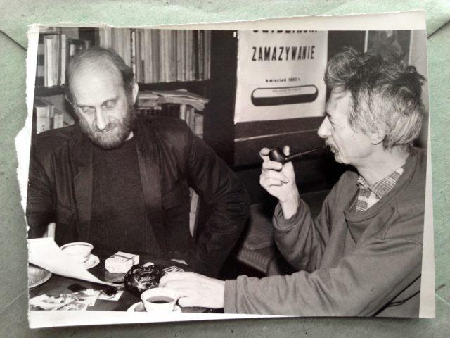 Jan Swidzinski, Andrzej Mroczek - fot.Robert Bean